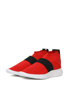 Snake print boots green