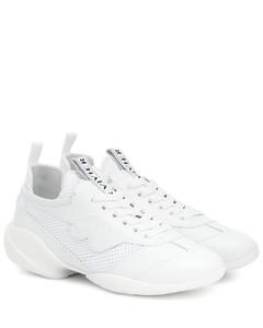 Viv' Sprint皮革边饰运动鞋