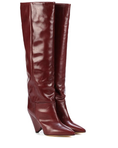 Exclusive to Mytheresa–Lokyo leather knee-high boots
