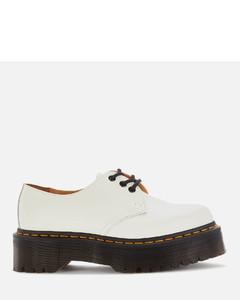 Women's 1461 Quad Leather 3-Eye Shoes - White