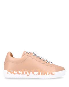 Low-Top Sneakers ESSIE calfskin