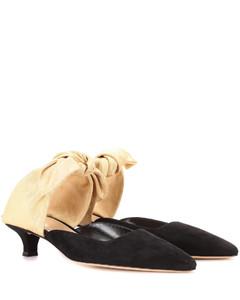 Coco绒面革穆勒鞋