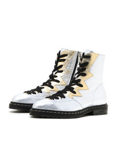 Ankle Boot Heart Leather