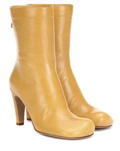 Bloc皮革及踝靴