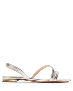 Casati pearl-heeled leather sandals