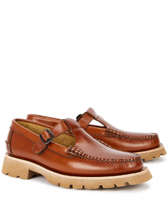 Alber Sport brown leather loafers