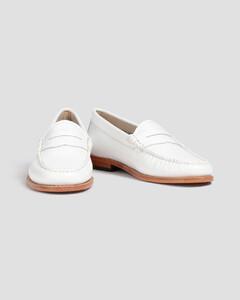 黑色Mix长翼布洛克靴