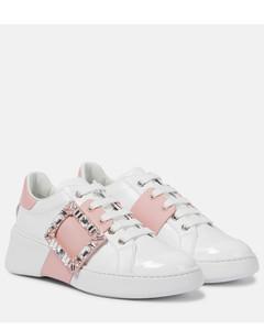 Viv' Skate皮革运动鞋