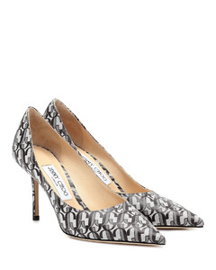Love 85 printed leather pumps