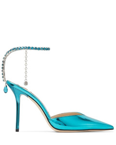 Leather Buckle-Detail Loafers