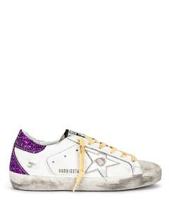 Superstar Sneaker in Purple,White