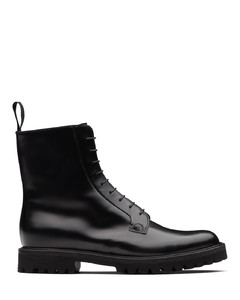 Polished Binder Lace-Up Boot