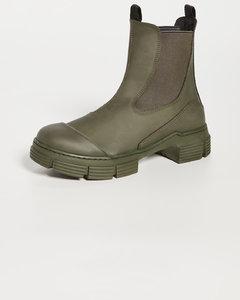 Garavani Rockstud皮革及踝靴