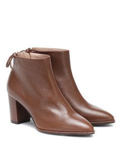 Gardiner皮革及踝靴