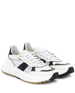 Speedster皮革网布运动鞋