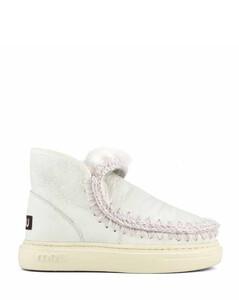 Patent Croco 2固定带穆勒鞋