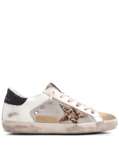 Deluxe Brand Superstar Lace-Up Sneakers