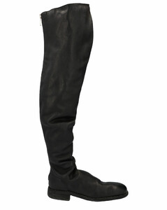 Over The Knee Zip Detail Boots