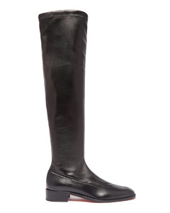 Theophila over-the-knee leather boots