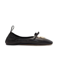 黑色William De Morgan Dodo芭蕾平底鞋