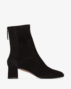black Saint Honoré50 suede ankle boots