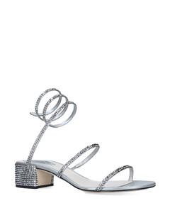 Embellished Twirl Sandals 40