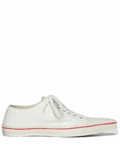 Logo Print Pointed-Toe Sneakers