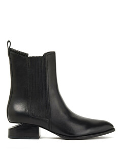 Woman Anouck Leather Ankle Boots