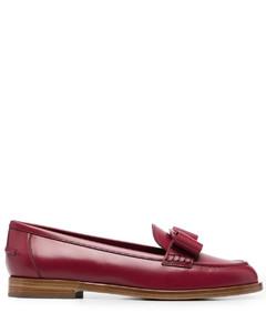 单堆叠系带靴