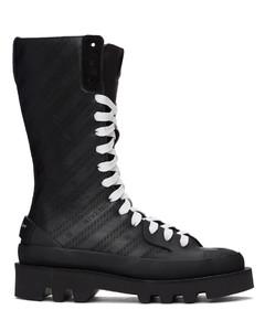 黑色Clapham中筒靴