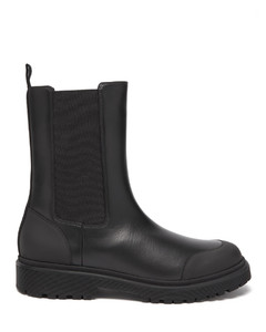 Patty chunky-sole leather Chelsea boots