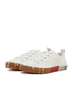 Canvas safari pollock sneakers