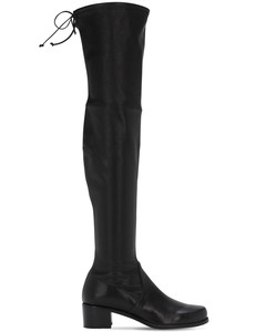 40mm Midland Over-the-knee Leather Boots