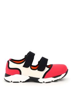 Sneakers Marni for Women Raspberry Natural White