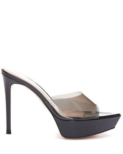 Claude Embossed-Leather Boots in Brown