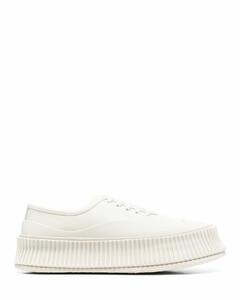 ridged-sole sneakers