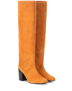 Tubo suede knee-high boots