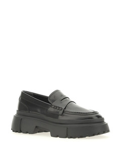 Mahe 50 black leather ankle boots