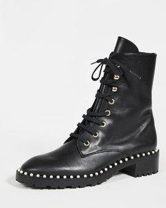 Allie沟纹鞋底靴子