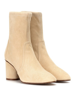 Margot 75 suede ankle boots
