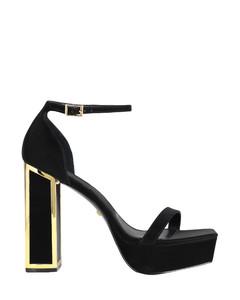 Copenhagen suede and shearling combat boots
