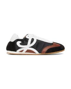 黑色Ballet Runner运动鞋