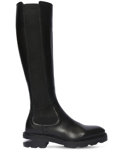 45mm Andy Leather Tall Boots