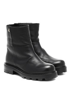 Haysel皮革及踝靴