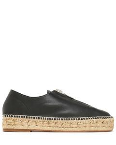 Devon leather espadrilles