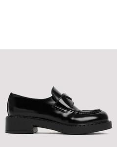 Mira Flat leather slides