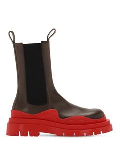 50毫米lvr专属皮革披头士靴