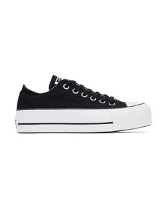 黑色Chunk Taylor All Star Lift运动鞋