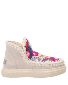 Woman Lane Zip-detailed Pebbled-leather Ankle Boots