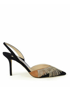 Python-Effect Mule Sandals in Grey